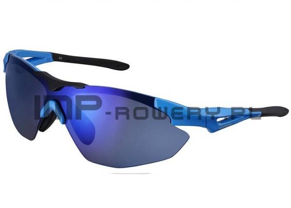 okulary niebieskie