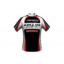 Koszulka kolarska KELLYS PRO TEAM red krótki rękaw