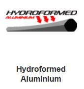 hydroformed aluminium