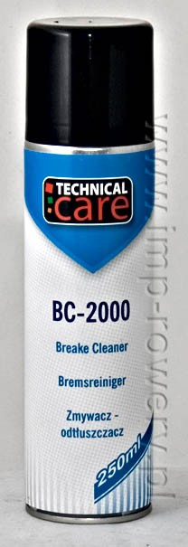 Zmywacz odtłuszczacz TECHNICAL CARE BC-2000 250ml