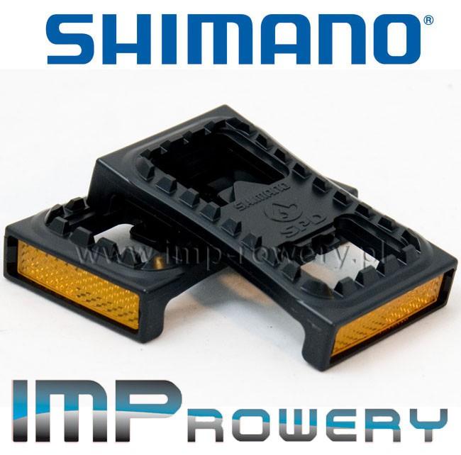 NAKŁADKI PLATFORMOWE NA PEDAŁY SPD SHIMANO SM-PD22