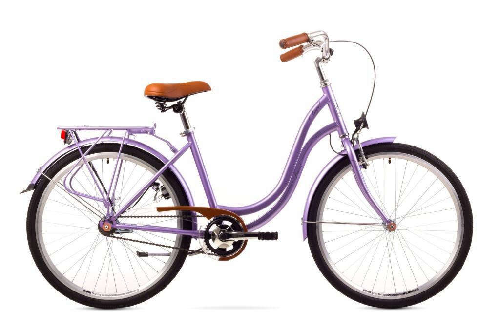 """Rower miejski damski Romet ANGEL 1-biegowy 26 Rama 19"""""""