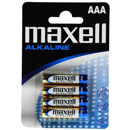Maxell Baterie alkaliczne - Blister Packs