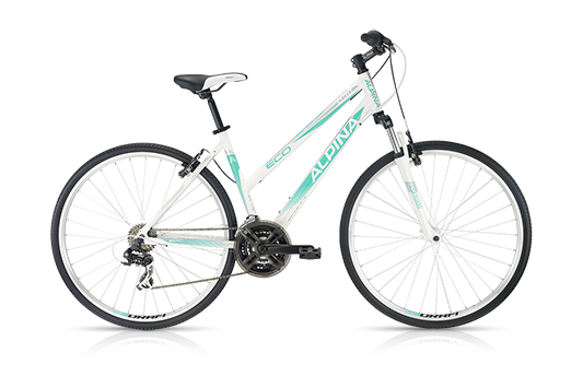 "ROWER KELLYS ALPINA ECO LC 10 white-turquoise 18"" 2016r."