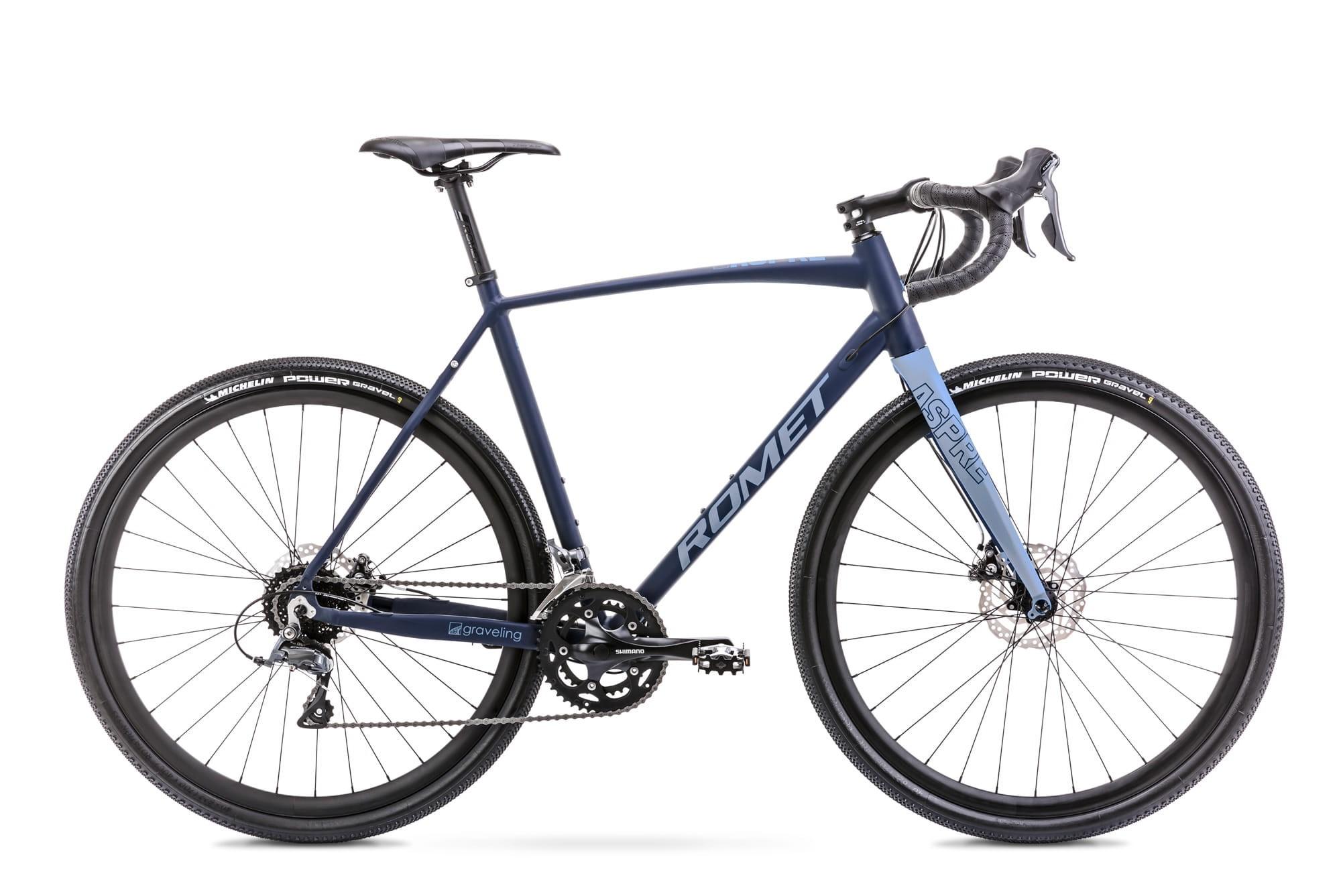 Rower Romet ASPRE 1 grafitowo-niebieski kolekcja 2021r