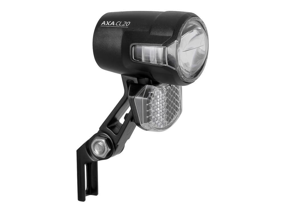 Lampka przednia AXA Compactline 20 - pod dynamo