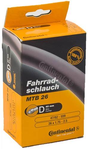 Dętka CONTINEENTAL 26 x1.75 do 2.5 Dunlop