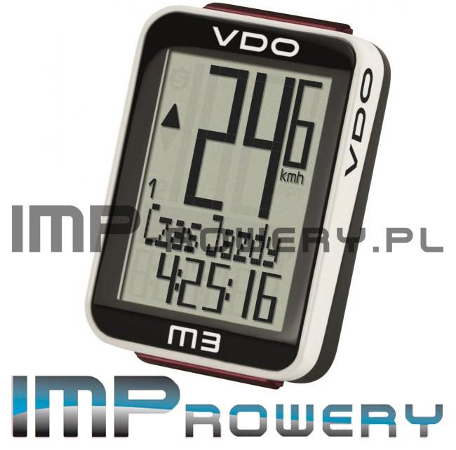 Licznik rowerowy VDO M3 POLSKIE MENU