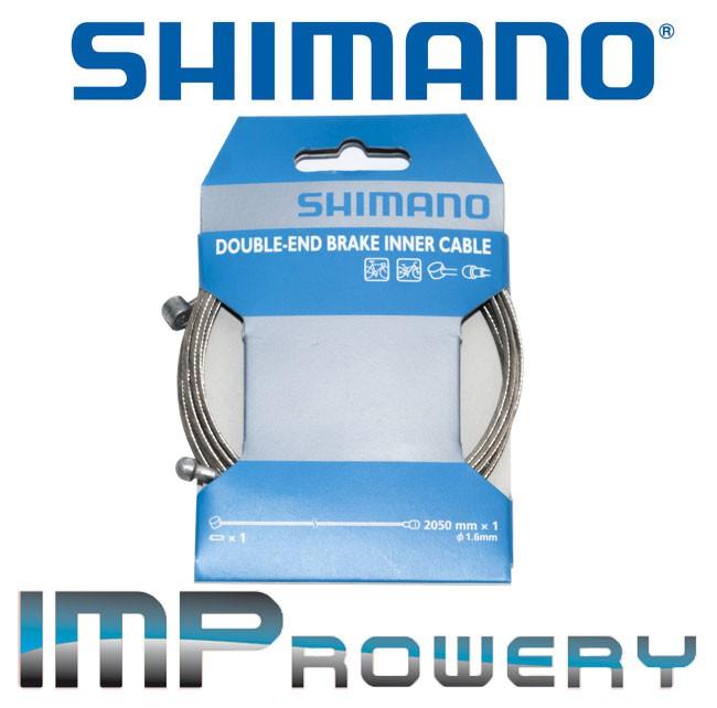 Linka hamulca SHIMANO MTB/SZOSA STAL NIERDZEWNA