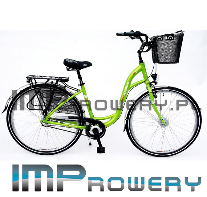Rower miejski MAJDLLER Shimano NEXUS 3 28''