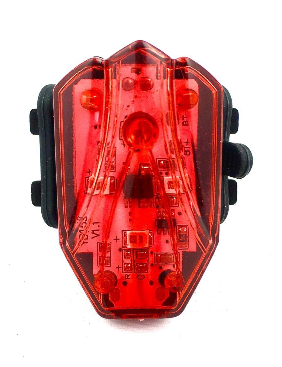 Lampa tył PU-31 70 lumenów USB na sztycę