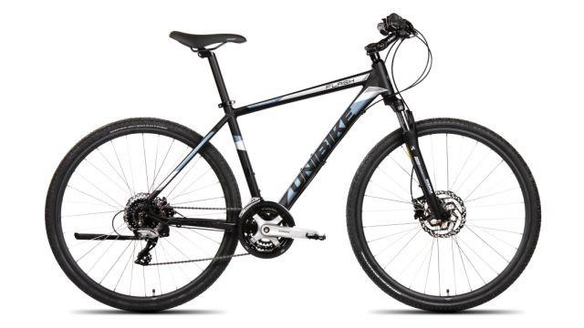 Rower UNIBIKE Flash M-19-czarno - niebieski-2018r.