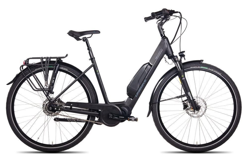 Rower UNIBIKE SWIFT/D-19/czarny- elektryczny