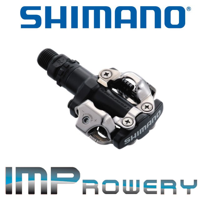 Pedały SPD SHIMANO PD-M520 + BLOKI