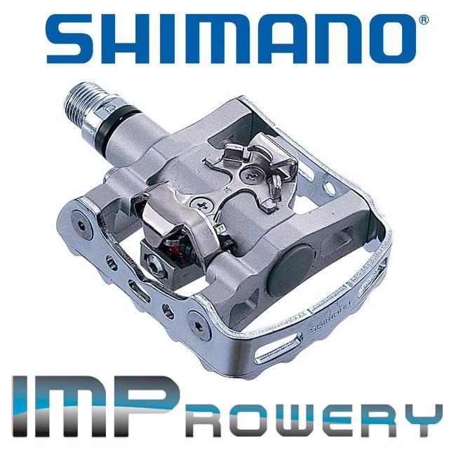 Pedały SPD SHIMANO PD-M324 + BLOKI -- TURYSTYCZNE