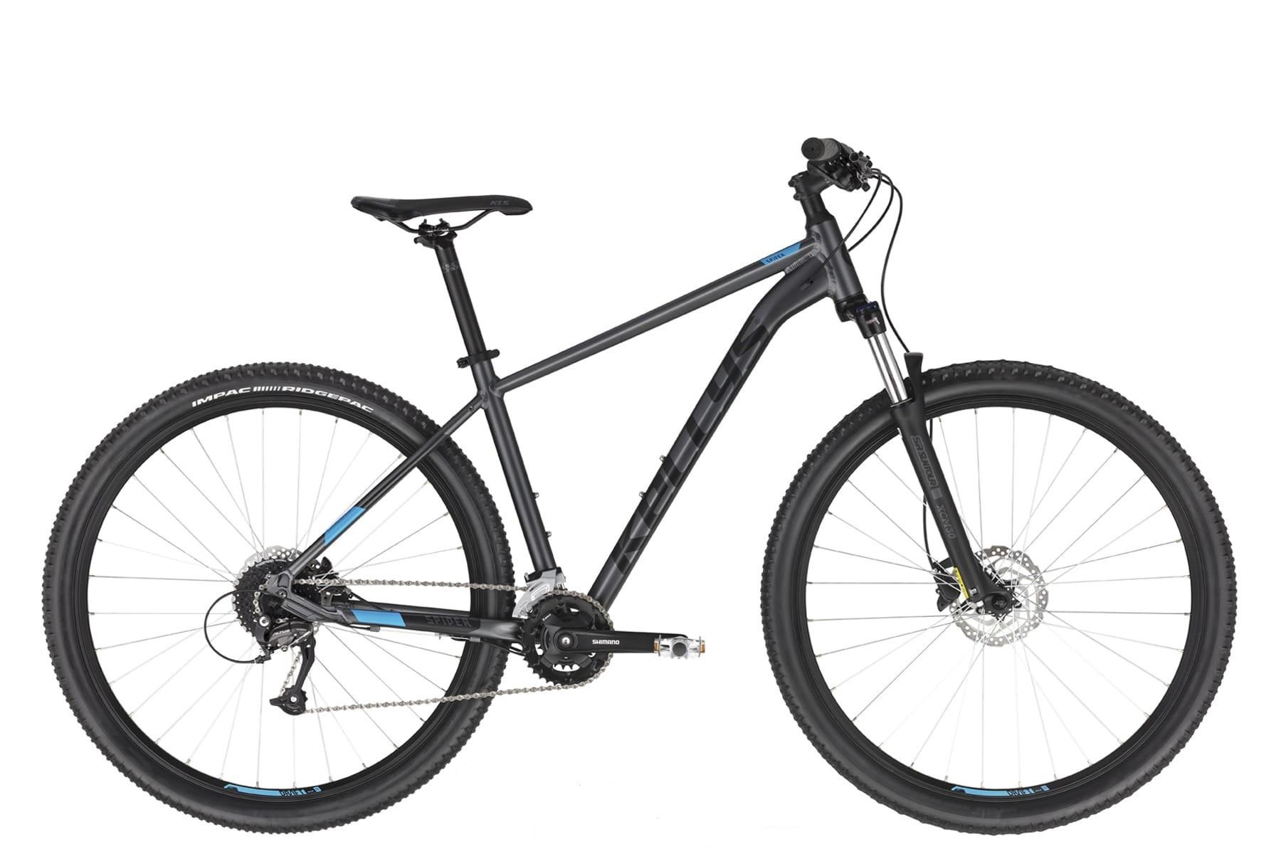"Rower KELLYS Spider 70 Black M 29"" kolekcja 2021"