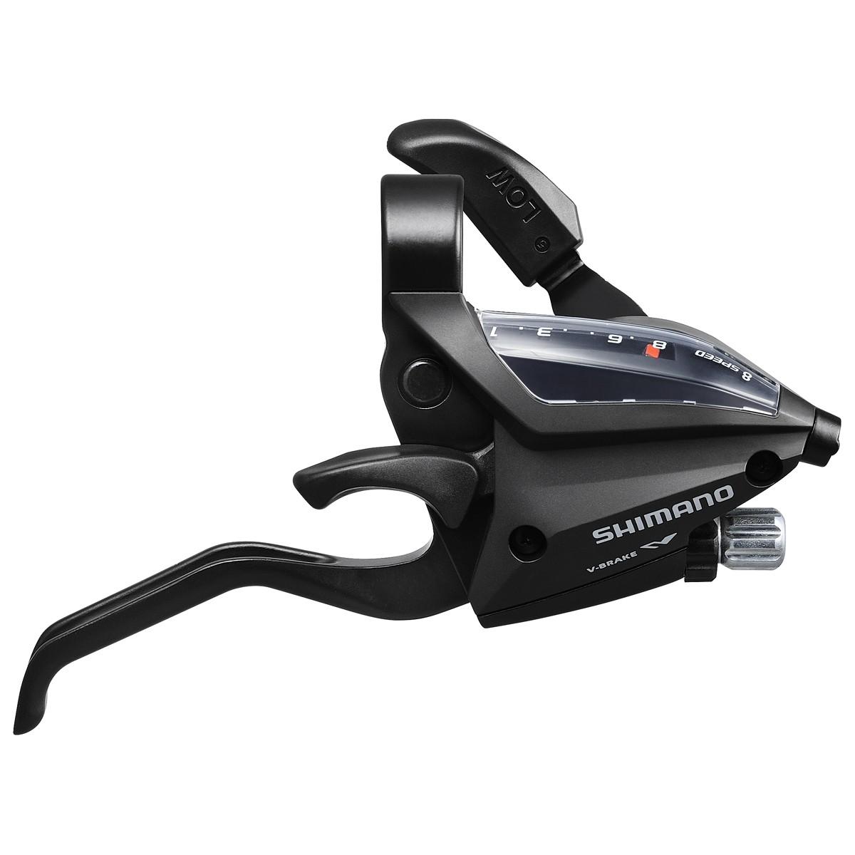 Klamkomanetka SHIMANO ST-EF500 8rz czarna tył