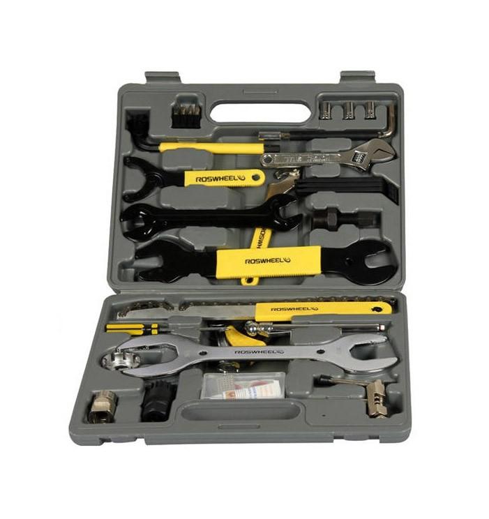 Zestaw narzędzi rowerowych WALIZKA 44 elementy