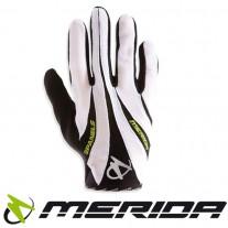 Rękawiczki MERIDA MISSION FF białe