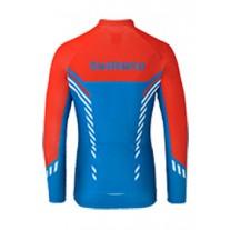 Bluza rowerowa SHIMANO THERMAL PRINT niebieska