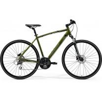 Rower MERIDA CROSSWAY 20-D S-M[48] MOSS GREEN SILVER-GREEN/BLACK.kolekcja 2021