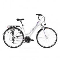 Rower Romet Gazela 28  19 L  biało-fioletowy kolekcja 2021