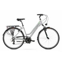Rower Romet Gazela1-28  19 L  jasnoszaro-zielony kolekcja 2021