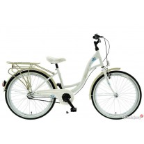 """Rower Kands 24"""" VITTORIA 3BN CTB biało-platynowy"""