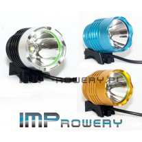 Lampa rowerowa HALOGEN LED CREE XM-L T6 + akumulator Li-Ion (8.4V-640mAh)
