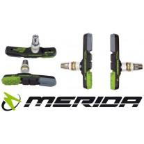 Klocki hamulca MERIDA GREEN BRAKE 3 mieszanki gum