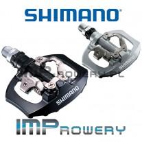 Pedały SPD SHIMANO PD-A530 PLATFORMY + BLOKI
