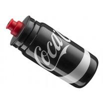 Bidon Elite FLY Coca-Cola Czarny 550ml z osłonką
