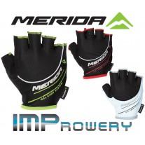 Rękawiczki kolarskie Merida SPORT III, krótkie palce.