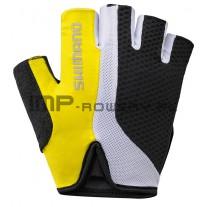 Rękawiczki rowerowe SHIMANO TOURING żółte