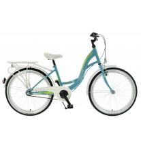 """Rower Kands 24""""  VITTORIA 3BN CTB niebiesko-biały połysk"""