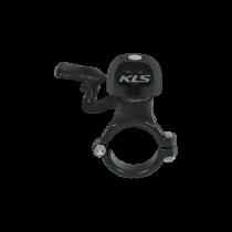 Dzwonek rowerowy czarny Kellys
