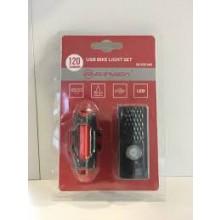 Briviga zestaw lampek EBL-2255/3402 120lm/20lm USB