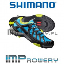 Buty SPD SHIMANO SH-MT34 niebieskie