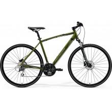 Rower MERIDA CROSSWAY 20-D S[46] MOSS GREEN SILVER-GREEN/BLACK kolekcja 2021