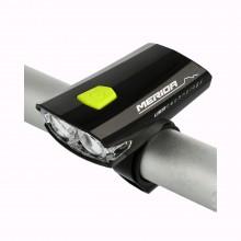 Lampka przód MERIDA HL-MD025 USB czarna 2 LED