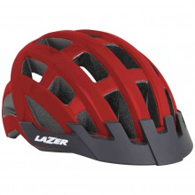Lazer Kask Compact Red Uni