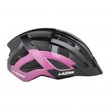 Kask Lazer Petit DLX Black Pink Uni +Led