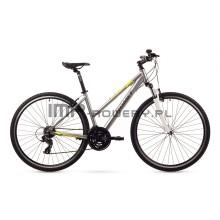 Rower Romet Orkan 1.0 D srebrny 2016r.