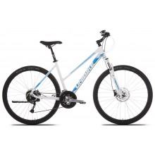 Rower Unibike Crossfire Disc/D-19/biało-turkusowy/ czarno-niebieski-2019r.