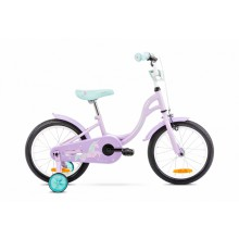 Rower Romet TOLA  16 różowo-turkusowy kolekcja 2021