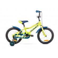 "Rower ROMET Tom 16"" zielono-niebieski katalog 2021r."