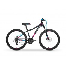 "Rower TABOU 27,5 VENOM LDS 15"" black/pink/blue"