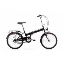 Rower Romet Wigry 2 składak 11 M czarno biały