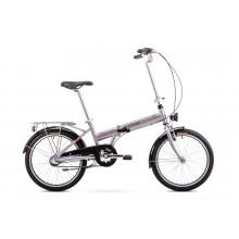 Rower Romet Wigry 3  składak 11 M srebrno czerwony ver 2