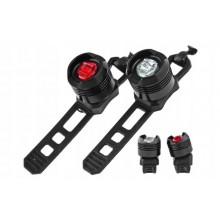 Zestaw oświetlenia przód + tył -JY-3006 1 LED